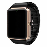 Bluetooth Smart Watch GT08 For Apple iphone IOS Android Phone Wrist Wear Support Sync smart clock Sim Card PK DZ09