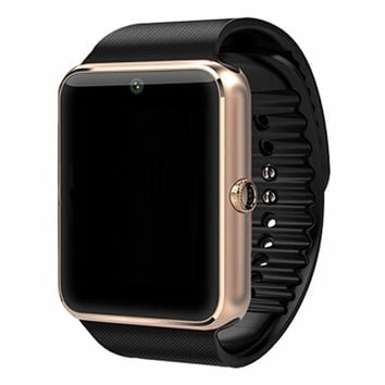 Smartwatch  GT08 Bluetooth Smart watch Wristwatch for Apple iPhone IOS Android Phone Intelligent Clock Sport Watch PKDZ09 F69 U8