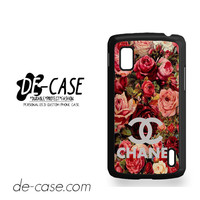 Floral Chanel 2 For Google Nexus 4 Case Phone Case Gift Present YO
