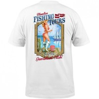 Blondies Fishing Tours Pocket Tee - Tops - Mens
