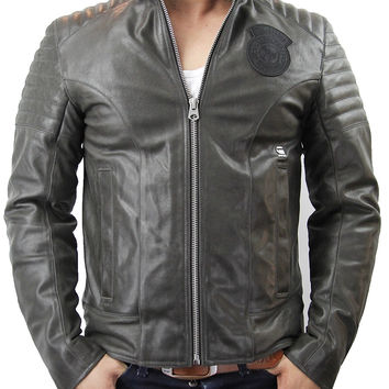 G-STAR RAW Aviator Premium Leather Jacket