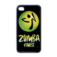 Apple iPhone Case - Zumba Fitness 3D Video Game Logo - iPhone 4 Case | Merchanstore - Accessories on ArtFire