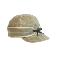 Stormy Kromer Waxed Cotton Cap Field Tan