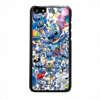 stitch disney collage iphone 5c 5 5s 4 4s 6 6s plus cases