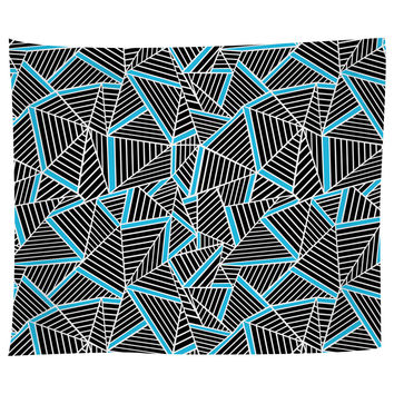 Ab Lines Electric Blue Tapestry