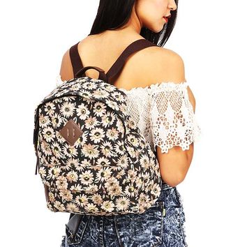 Daisy Canvas Backpack