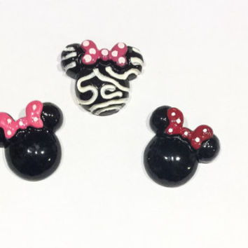 Set of (3) Minnie Mouse Magnets-FE Gifts-Disney Magnets - Fish Extended-DCL-Minnie Magnets-Disney Cruise-Minnie Birthday Favors