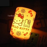 new hello kitty night light-nightlight wall lamp HKNL1P