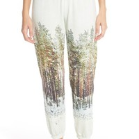 All Things Fabulous Landscape Print Sweatpants | Nordstrom