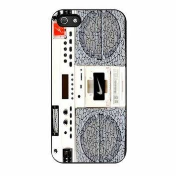 DCKL9 Nike Air Jordan Radio Boombox iPhone 5s Case
