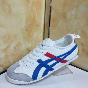 """Asics Onitsuka"" Four Seasons Unisex Classic Casual Retro Couple Sneakers Plate Shoes"