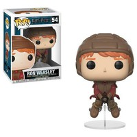POP! Movies: Harry Potter Ron Weasley on Broom