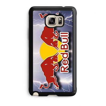 monster energy logo red bull samsung galaxy note 5 note edge cases