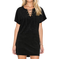 YFB CLOTHING Shia Dress in Black
