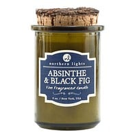 Spirit Jar Craft Cocktail Candle -- Absinthe & Black Fig