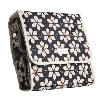 Apple & Bee Carry All Traveller Cosmetic Case, Star Daisy Midnight