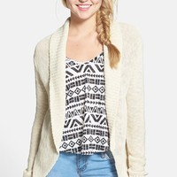 Junior Women's BP. Open Front Cardigan