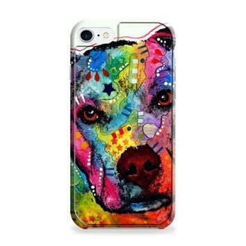 Pitbull Love Painting iPhone 6 | iPhone 6S Case
