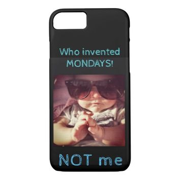 MONDAY Apple Phone Cover
