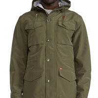 Obey Highline Jacket in Army