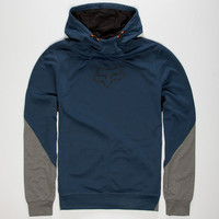 Fox Active Rotate Mens Hoodie Blue  In Sizes