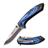 Butterfly Wing Knife- Blue