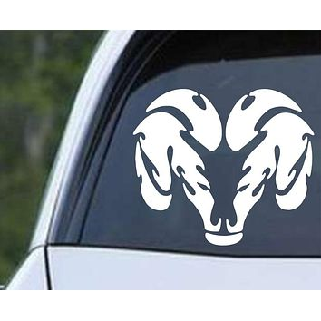 Dodge Tribal Ram Die Cut Vinyl Decal Sticker