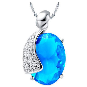 925 Silver Crystal Pendant = 5839668545
