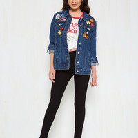 Patches Make Perfect Jacket | Mod Retro Vintage Jackets | ModCloth.com