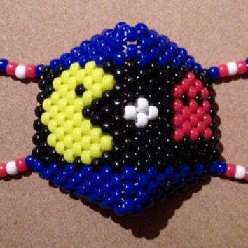 Pac Man Ghost Surgical Mask