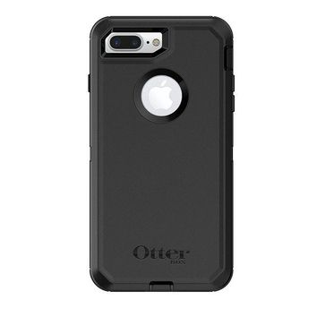 DCK4S2 OtterBox DEFENDER SERIES Case for iPhone 8 Plus & iPhone 7 Plus (ONLY) - Retail Packaging - BLACK