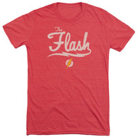 Vintage The Flash Old School Soft Tri Blend T-Shirt
