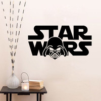 Stylish Star Wars Wall Sticker (56*30cm) = 4152748612
