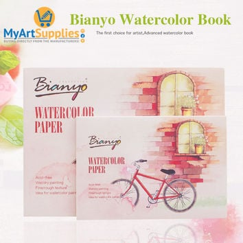 Watercolor Sketching Color Book