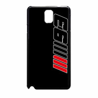 Marc Marquez 93 Black Samsung Galaxy Note 3 Case