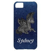 iPhone Case Dark pegasus illustration