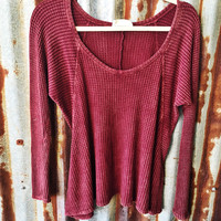 The Burgundy Wash Out