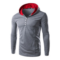 Hot Sale Hats Hoodies Korean Slim Men Tops Jacket [6528675971]