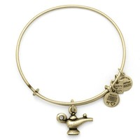 Alex and Ani Lamp Of Light Charm Bangle - Russian Gold