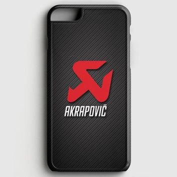 Akrapovic Exhaust System Carbon Motorcycle iPhone 6 Plus/6S Plus Case | casescraft