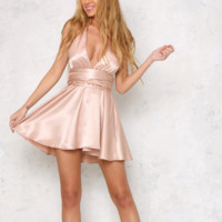 let's dance halter dress