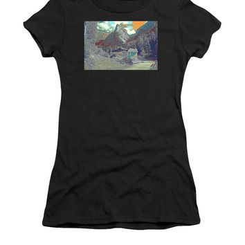 Swiss Alps - Women's T-Shirt (Athletic Fit)