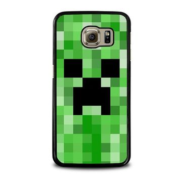 CREEPER MINECRAFT 2 Samsung Galaxy S6 Case Cover