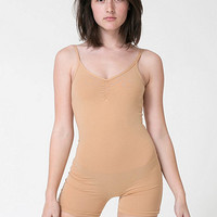 Cotton Spandex Jersey Short Unitard | American Apparel