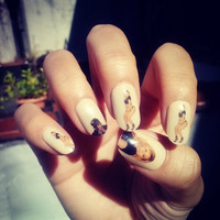 Nail Decal BEYONCE Nail Decals
