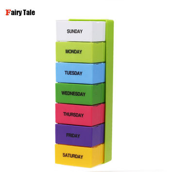 7 Days 28 Slots Weekly Pill Case Tablet Medicine Box Holder Storage Organizer Container Dispenser Health Care