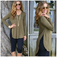 Olive Ever Wanted Basic Top