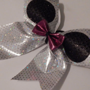 Super Cute Minnie Mouse Style Cheer Bow