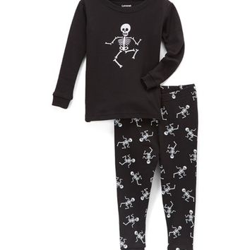 Black Skeleton Pajama Set - Infant, Toddler & Boys