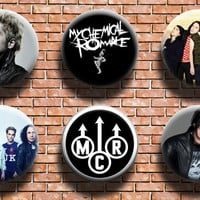 My Chemical Romance 1.25 Inch Button Six Pack